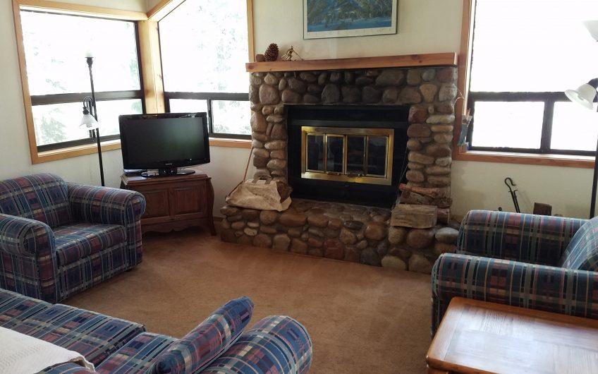 Convenient turnkey 'treehouse' 3 bedroom cabin