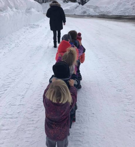 snow worms kids