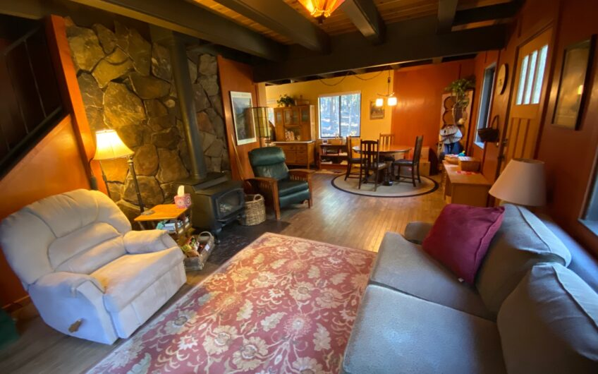 Stunning Cabin on a Rare 7+ Private Acres