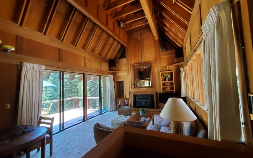 High Sierra architectural masterpiece.